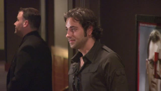 Zachary Levi at the Special New York Screening of 'Mr Brooks' Premiere at the Tribeca Grand Hotel in New York New York on May 29 2007