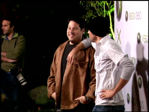 Zachary Levi at the Xbox 360 Launch Party on November 16 2005