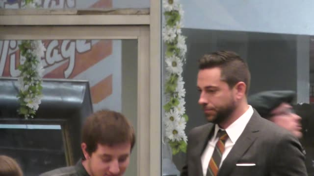 Zachary Levi outside The Star Premiere at Village Theatre in Westwood in Celebrity Sightings in Los Angeles