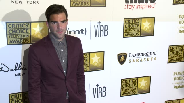 Zachary Quinto at Broadcast Television Journalists Association's 3rd Annual Critics' Choice Television Awards on 6/10/2013 in Beverly Hills CA