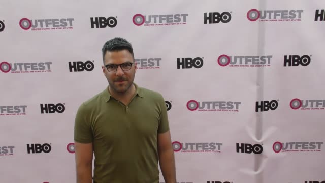 vídeos de stock, filmes e b-roll de zachary quinto at the 2017 outfest los angeles lgbt film festival opening night gala of god's own country at orpheum theatre on july 06 2017 in los... - zachary quinto