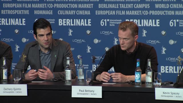 zachary quinto at the 61st berlin film festival margin call press conference at berlin - zachary quinto stock videos and b-roll footage