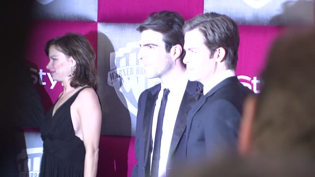 zachary quinto chris pine at the instyle 2009 golden globes after party part 4 at los angeles ca - zachary quinto stock videos and b-roll footage