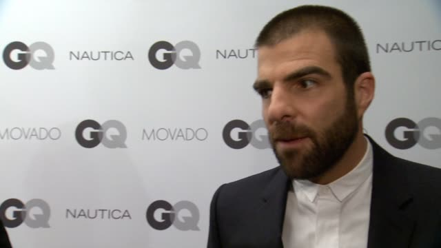 interview zachary quinto on his work with the trevor project why it's important on what it means to be a gentleman accepts his award by saying that... - zachary quinto stock videos and b-roll footage