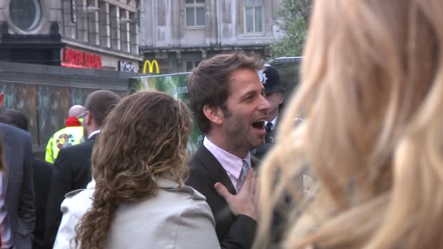 Zack Snyder at the Sucker Punch UK Premiere at London England