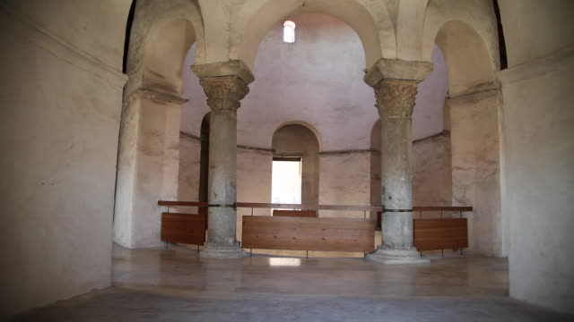 Zadar, Church of Saint Donatus, Pre-Romanesque, interior views