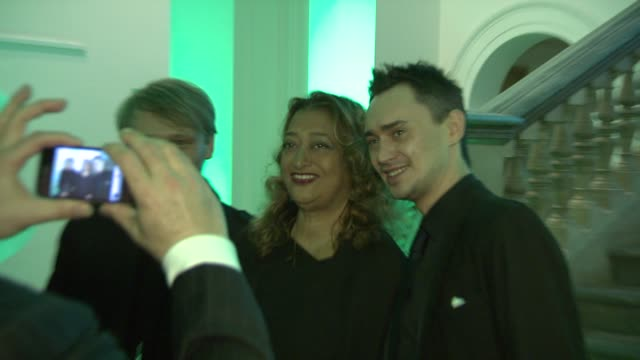 Zaha Hadid at Royal Academy of Arts on February 16 2012 in London England