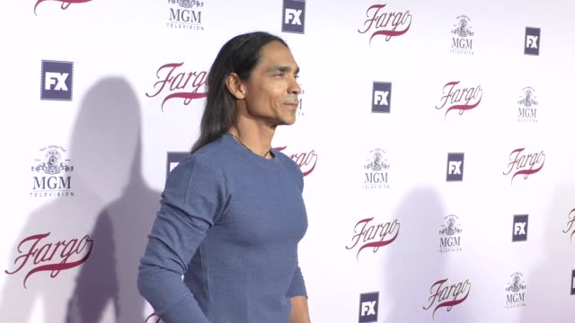 Zahn McClarnon at the For Your Consideration Event For FX's Fargo at Paramount Pictures in Hollywood in Celebrity Sightings in Los Angeles