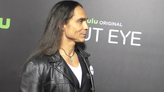 Zahn McClarnon at the Premiere of Hulu's 'Shut Eye' on December 01 2016 in Beverly Hills California