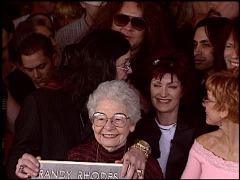 zakk wylde at the Randy Rhoads Rockwalk at Guitar Center in Hollywood California on March 18 2004