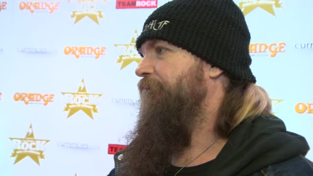 INTERVIEW Zakk Wylde on his plans while in London at Classic Rock Awards 2013 at The Roundhouse on November 14 2013 in London England