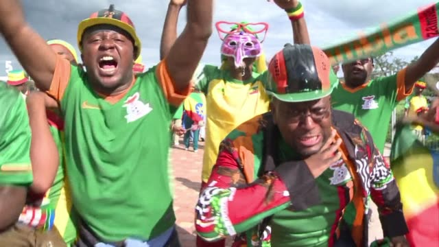 zambia have history against them as herve renard team begin the defence of last year stunning africa cup of nations title clean football history... - mpumalanga province stock videos and b-roll footage