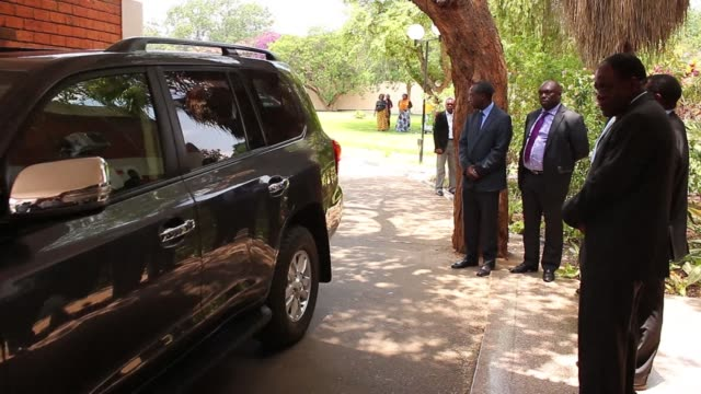 zambia holds a second day of mourning for president michael sata who died in a london hospital as his deputy guy scott becomes pending elections... - apartheid stock videos and b-roll footage