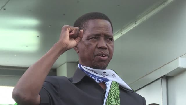 zambian president edgar lungu declares a state of emergency after a series of apparent arson attacks in a move likely to trigger fresh accusations of... - trigger stock videos & royalty-free footage