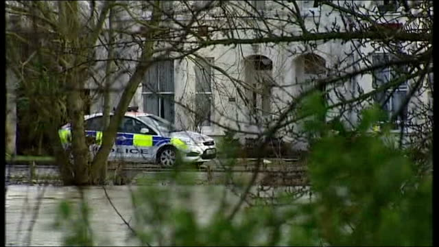 zane gbangbola's family wait for answers over his death t09021401 / tx chertsey ext gbangbola family home and with flooded river thames in foreground... - family tree stock videos and b-roll footage