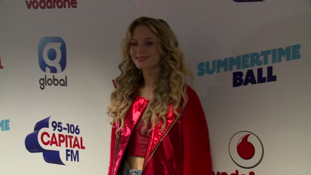 zara larsson at wembley arena on june 10 2017 in london england - wembley arena stock videos & royalty-free footage