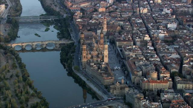 Zaragoza  - Aerial View - Aragon, Saragossa, Zaragoza, Spain