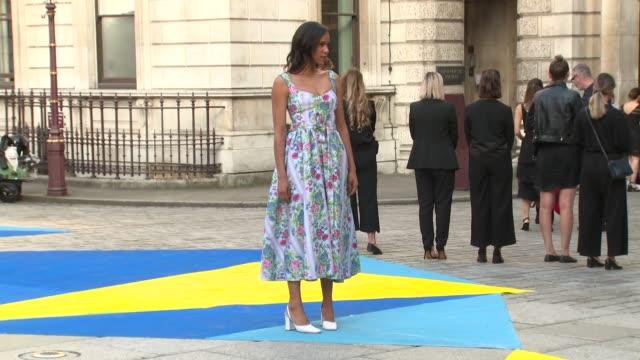 zawe ashton at royal academy of arts on june 06 2018 in london england - royal academy of arts bildbanksvideor och videomaterial från bakom kulisserna