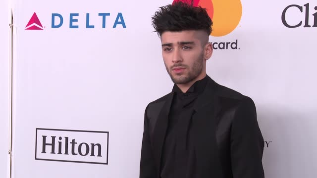 Zayn Malik at Clive Davis PreGRAMMY Gala at Sheraton Times Square on January 27 2018 in New York City