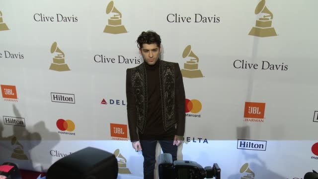 Zayn Malik at the 2017 PreGrammy Gala Honoring Debra L Lee With Grammy Salute To Industry Icons Award at The Beverly Hilton Hotel on February 11 2017...