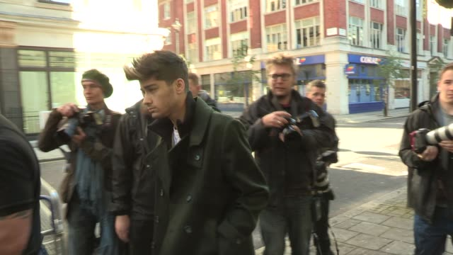 Zayn Malik of One Direction at BBC Radio Studios to copresent a two hour show Zayn Malik at BBC Radio Studios on October 06 2012 in London England