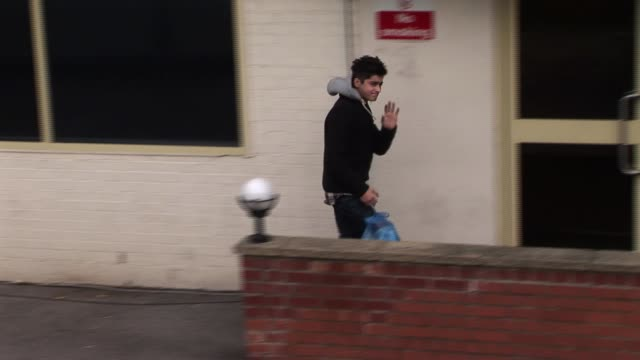 Zayn Malik of One Direction returns from a break XFactor Sightings Zayn Mailk at Fountain Studios on October 29 2010 in London England