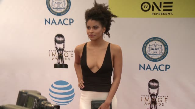 Zazie Beetz at 48th NAACP Image Awards at Pasadena Civic Auditorium on February 11 2017 in Pasadena California