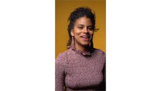zazie beetz from 'wounds' poses for a portrait in the pizza hut lounge in park city utah on january 26 2019 in park city utah - park city stock videos & royalty-free footage