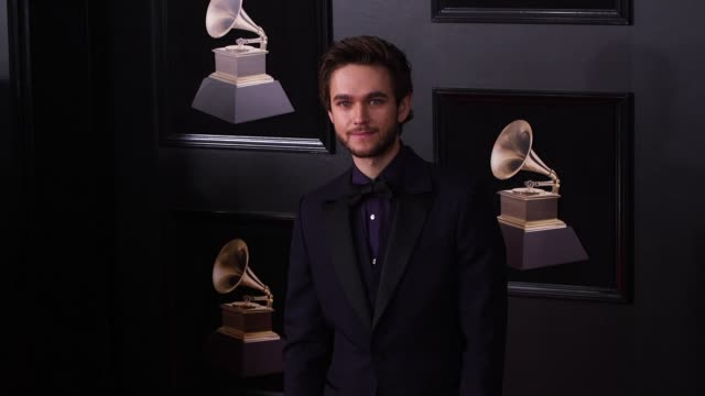 Zedd at 60th Grammy Awards Celebration Party at Madison Square Garden on January 28 2018 in New York City