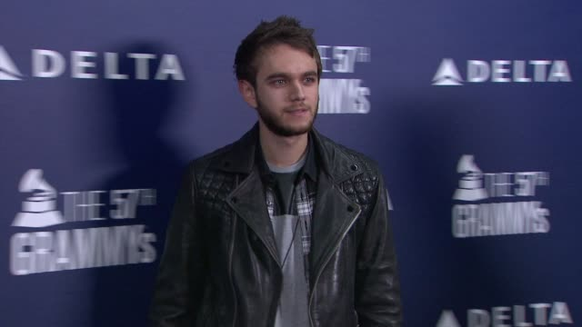 zedd at delta air lines kicks off grammy weekend with private performance by grammy nominated artist charli xcx and dj set by questlove at soho house... - delta air lines stock-videos und b-roll-filmmaterial