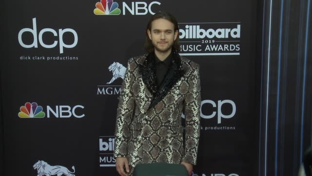 zedd at the 2019 billboard music awards at mgm grand garden arena on may 1 2019 in las vegas nevada - mgm grand garden arena stock videos & royalty-free footage