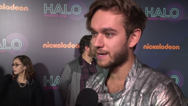 INTERVIEW Zedd is excited for the evening at Nickelodeon Halo Awards 2016 at Pier 36 on November 11 2016 in New York City