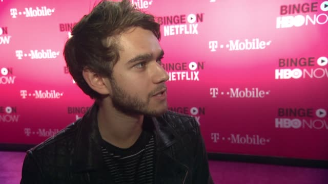 INTERVIEW Zedd on being excited for tonight talks about his partnership with TMobile what shows he's binging on at TMobile Uncarrier X Launch...