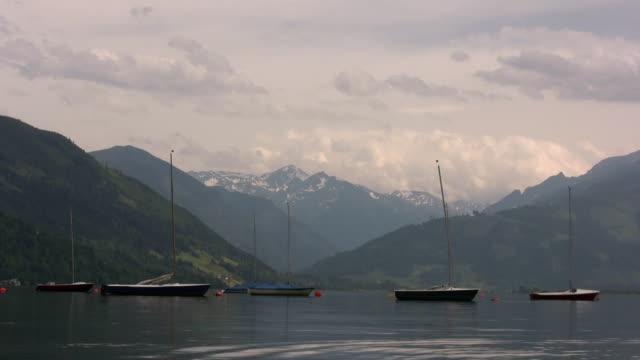 ツェル am see (austria )(オーストリア) - 北チロル点の映像素材/bロール
