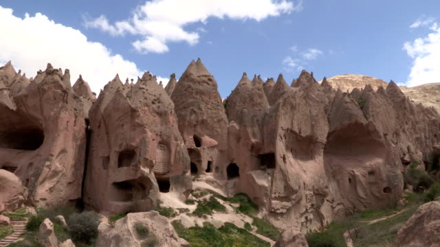 zelve, cappadocia, turkey - cappadocia stock videos and b-roll footage