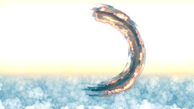 zen enso icon - philosophy stock videos & royalty-free footage