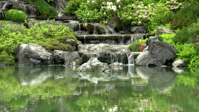 zen garden - oriental garden stock videos and b-roll footage