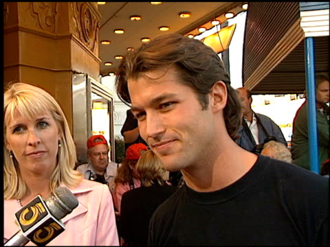 zen gesner at the 'dragonheart' premiere on may 28, 1996. - dragonheart stock videos & royalty-free footage