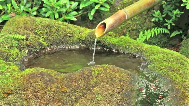 禅の噴水 - 音声あり点の映像素材/bロール