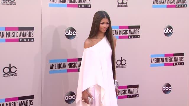Zendaya arrives at the 2013 American Music Awards Arrivals