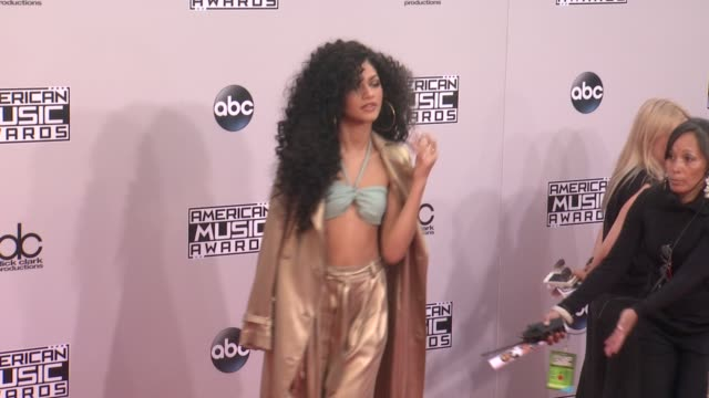 Zendaya at the 2014 American Music Awards at Nokia Theatre LA Live on November 23 2014 in Los Angeles California