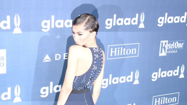 Zendaya at the 27th Annual GLAAD Media Awards at The Beverly Hilton Hotel on April 2 2016 in Beverly Hills California