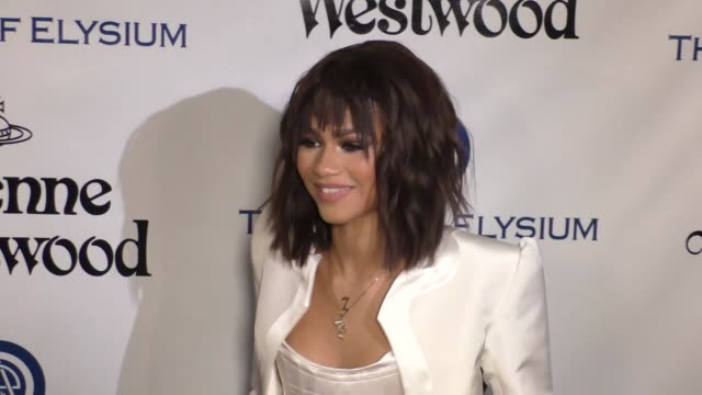 Zendaya at The Art of Elysium's 9th Annual HEAVEN Gala at 3LABS in Culver City at Celebrity Sightings in Los Angeles on January 09 2016 in Los...