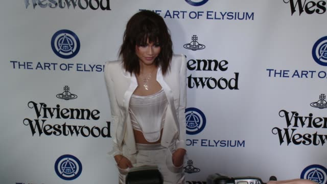 zendaya coleman at the the art of elysium's ninth annual heaven gala at 3labs on january 9 2016 in culver city california - gala stock videos and b-roll footage