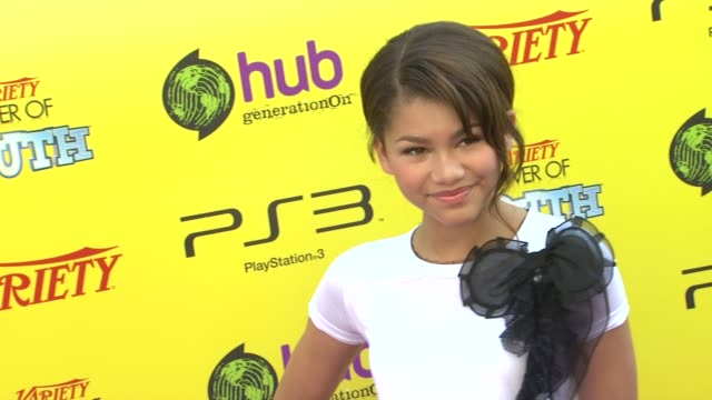 Zendaya Coleman at the Variety's 5th Annual Power Of Youth Event at Los Angeles CA