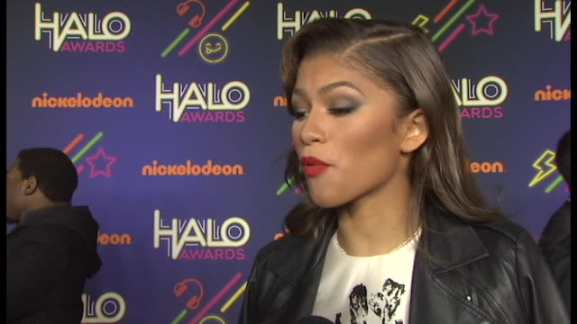 INTERVIEW Zendaya Coleman on what brings her out tonight On presenting to one of the honorees On how she tries to inspire her fans to give back On...