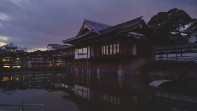zenko-ji temple, nagano, japan (time lapse) - shinto shrine stock videos & royalty-free footage