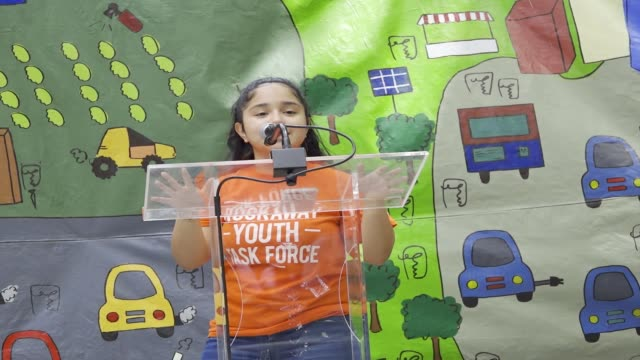 zero hour nyc youth climate march youth call upon policymakers to cut ties with the fossil fuel industry and invest in a sustainable future and for... - social justice concept stock videos & royalty-free footage