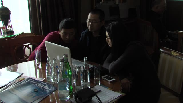 Zhang Yuqi at White Deer Plain Interview 62nd International Berlin Film Festival 2012 at Ritz Carlton on February 16 2012 in Berlin Germany