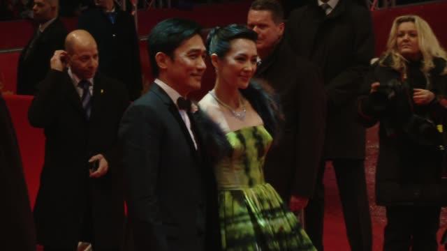 Zhang Ziyi and Tony Leung Chiu Wai at 'The Grandmaster' Premiere 63rd Berlinale International Film Festival Zhang Ziyi and Tony Leung Chiu Wai at...